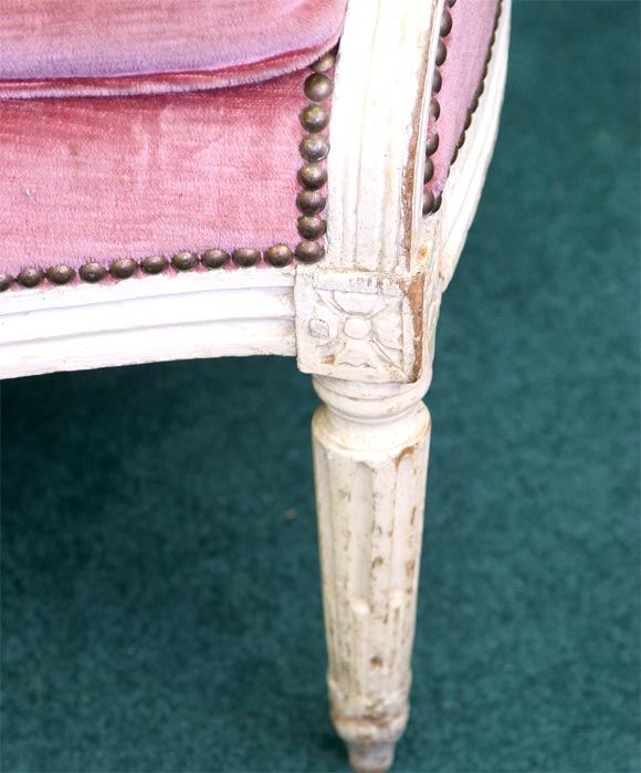 French Louis XVI Bergere For Sale