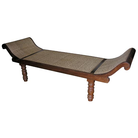 Teak Chaise Lounge at 1stdibs
