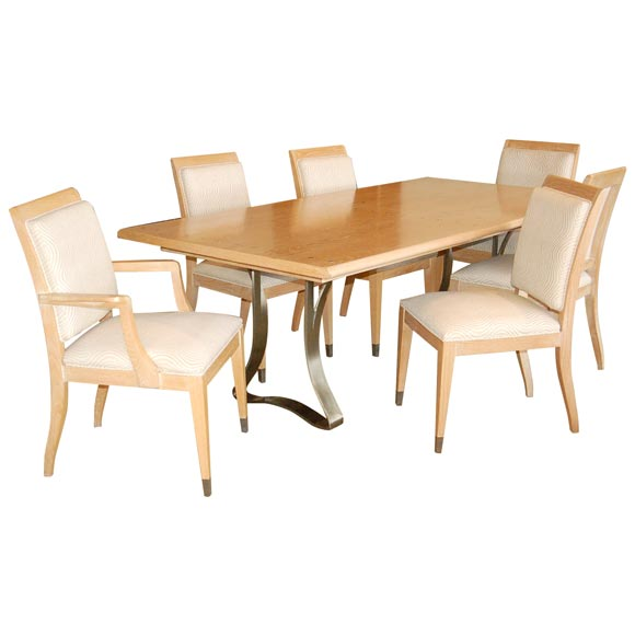 Jay spectre dining set sale 50 off at 1stdibs for Public dining room 50 off