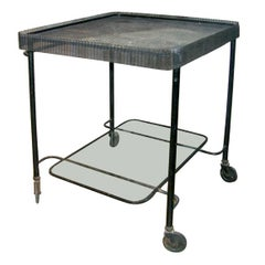 Mategot Serving Cart on Wheels