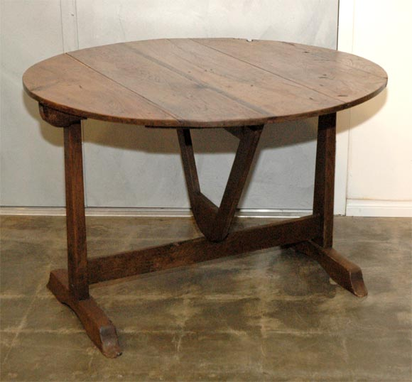 Country Wine Table at 1stdibs