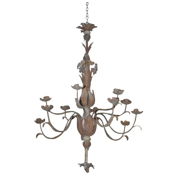 Tole Italy  city pictures gallery : iTALIAN TOLE CHANDELIER at 1stdibs