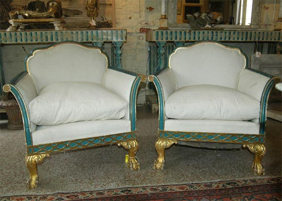 French Neoclassic Armchairs 2
