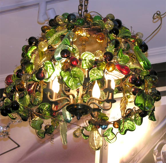 Murano Glass Fruit Chandelier at 1stdibs – Fruit Chandelier