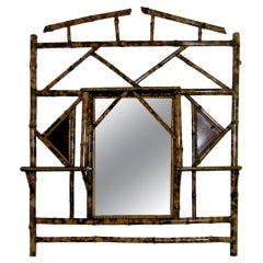 Collection Of Six English Vintage Barbola Mirrors For Sale