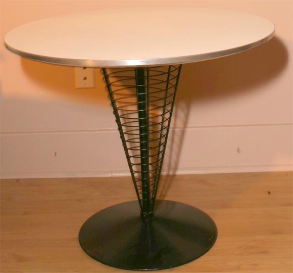 verner panton table for sale at 1stdibs. Black Bedroom Furniture Sets. Home Design Ideas