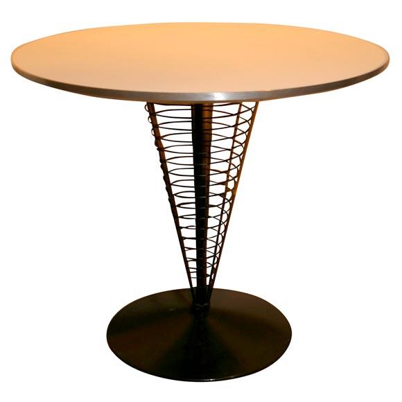 verner panton table at 1stdibs. Black Bedroom Furniture Sets. Home Design Ideas