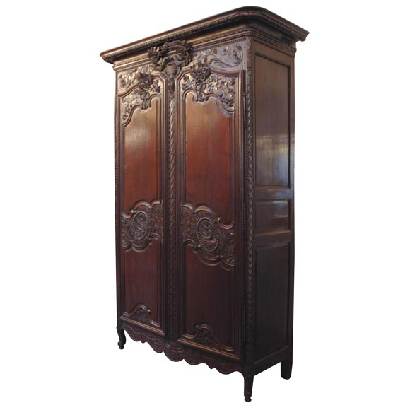 French Wedding Armoire At 1stdibs