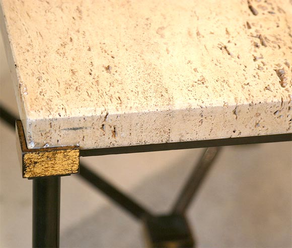 Gilt Bronze Side Table 9