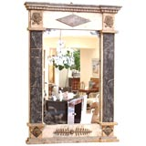 Pair of Marble and Stone Mirrors