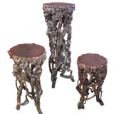 Rootwood Stands in small, medium, and large