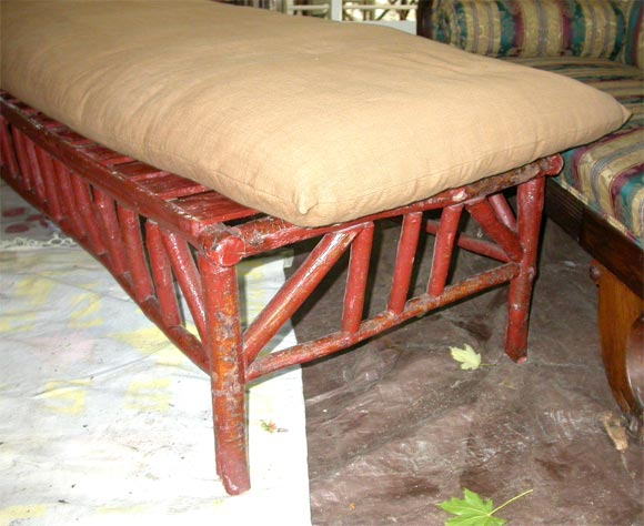 adirondack chaise at 1stdibs. Black Bedroom Furniture Sets. Home Design Ideas