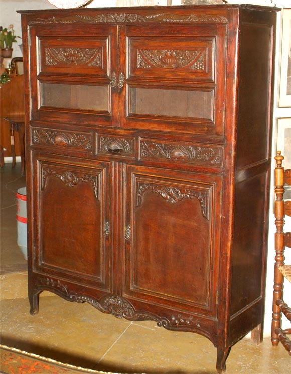 19th century rare kitchen food storage cabinet from for Kitchen cabinets france
