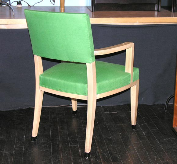 Open arm desk chair from france for sale at stdibs