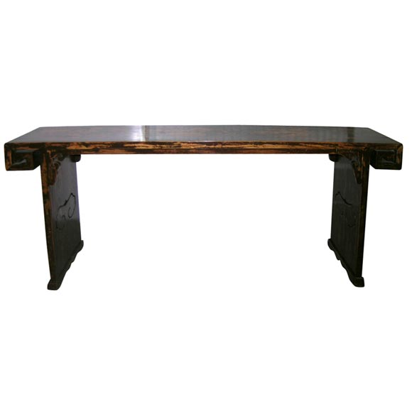 Flat top altar table at 1stdibs for Table exit fly