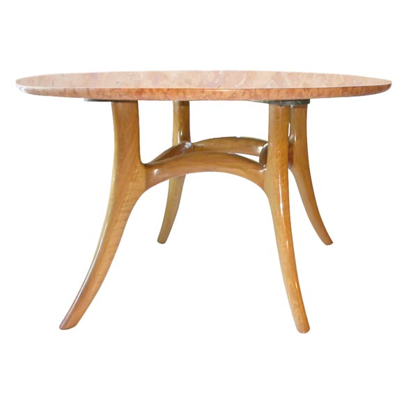 Dining or center table by t h robs john gibbings at 1stdibs for Dining at at t center