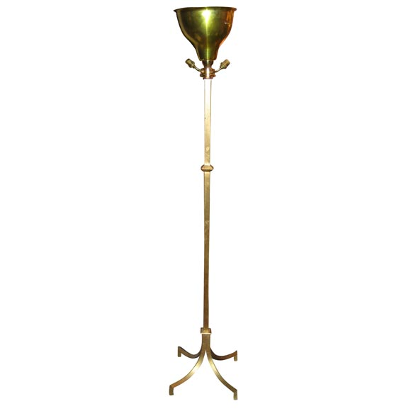 Floor Lamp By Robert Thibier At 1stdibs
