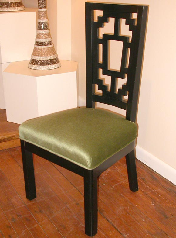 Asian Style Dining Chairs Mont Style Asian Inspired Dining Chairs For Sale At 1stdibs Mont