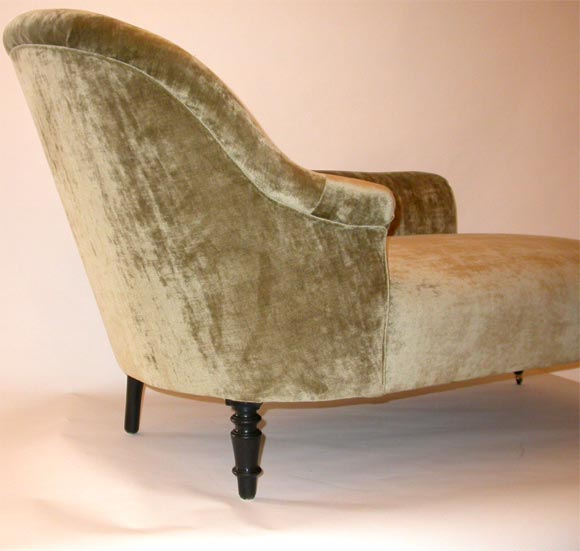Lori chaise lounge at 1stdibs for Art nouveau chaise lounge