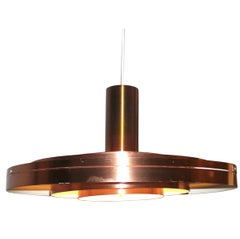 Danish Mid-Century Pendant / Ceiling Fixture by Lyfa