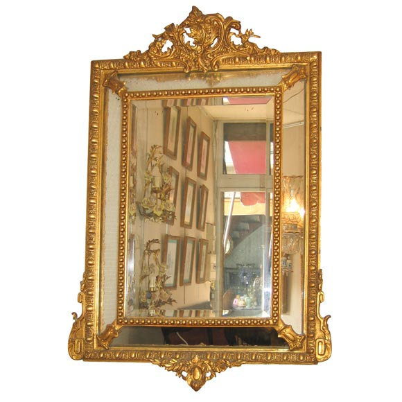 Gilt Edge Mirror At 1stdibs