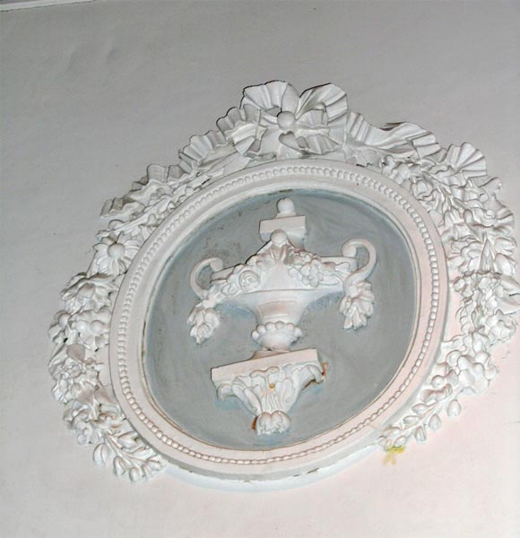 Beaux Arts Signed Maison Jansen Painted Boiserie For Sale