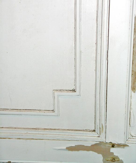 French Signed Maison Jansen Painted Boiserie For Sale
