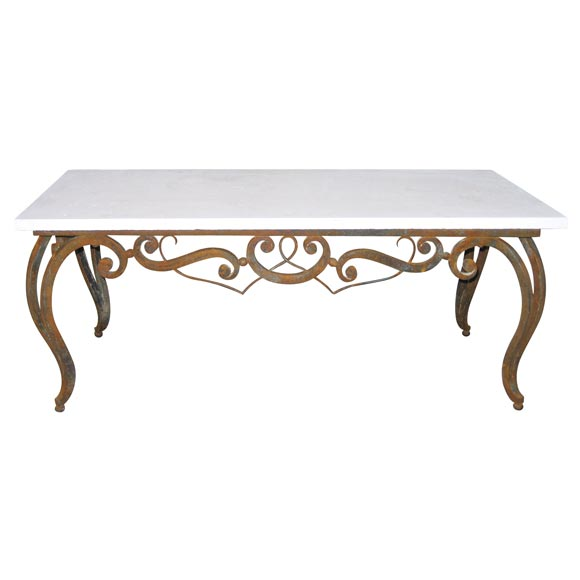 Forged Iron Table