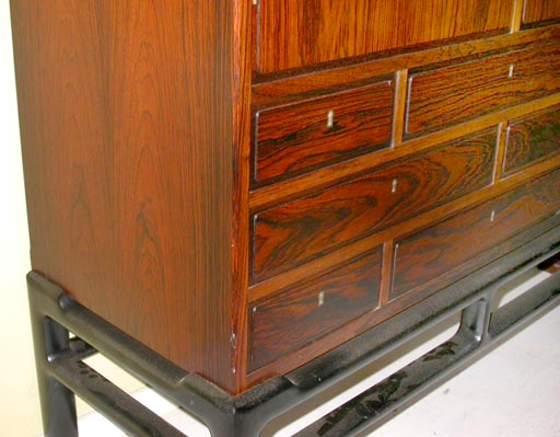 Danish Rosewood Cupboard by Illum Wikkelsø 3