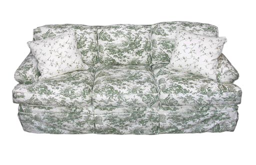 Highland House Emily Green Toile Sofa