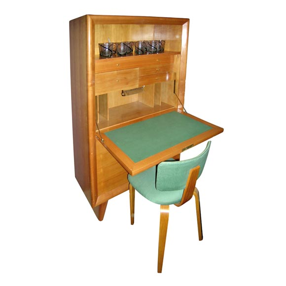 Writing Desk And Matching Chair By Suzanne Guiguichon At