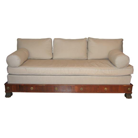 empire style sofa at 1stdibs