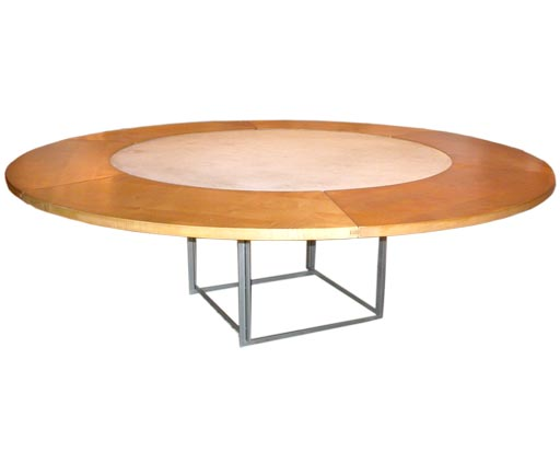 furniture poul kjaerholm pk54. pk 54 round dining table by poul kjaerholm for sale furniture pk54