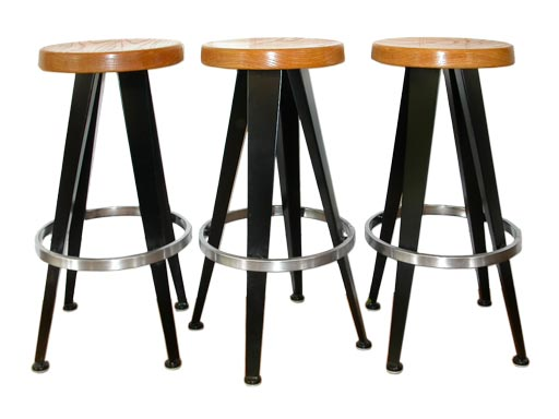 jean prouve stools at 1stdibs