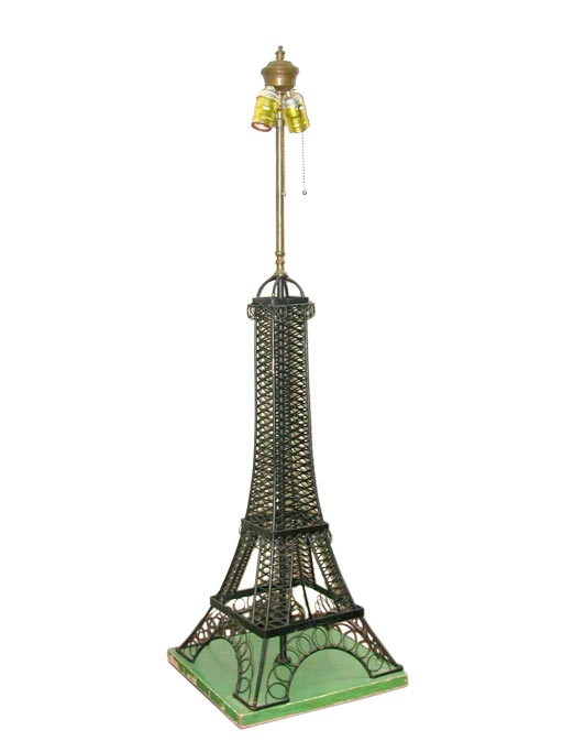 eiffel tower lamp at 1stdibs. Black Bedroom Furniture Sets. Home Design Ideas