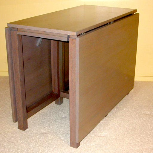 Silvered Oak Gate Leg Table For Sale At 1stdibs