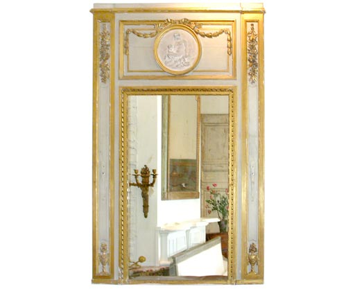 18th century trumeau mirror at 1stdibs for Empire antiques new orleans