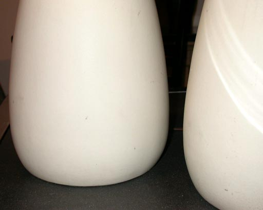 Pair of Porcelain Lamps by Raymor 5