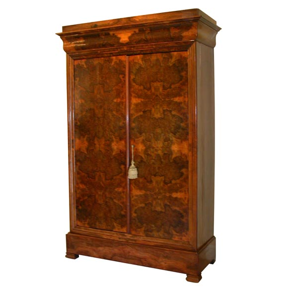 circassion louis philippe armoire at 1stdibs. Black Bedroom Furniture Sets. Home Design Ideas