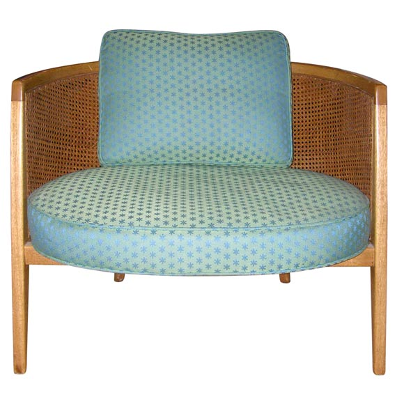 Pair of Hoop Frame Lounge Chairs by Harvey Probber