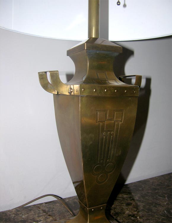 20th Century Pair of Classic Modern Jugendstil Table Lamps For Sale