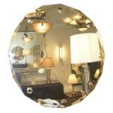 Machine Age Octagon Beveled Mirror