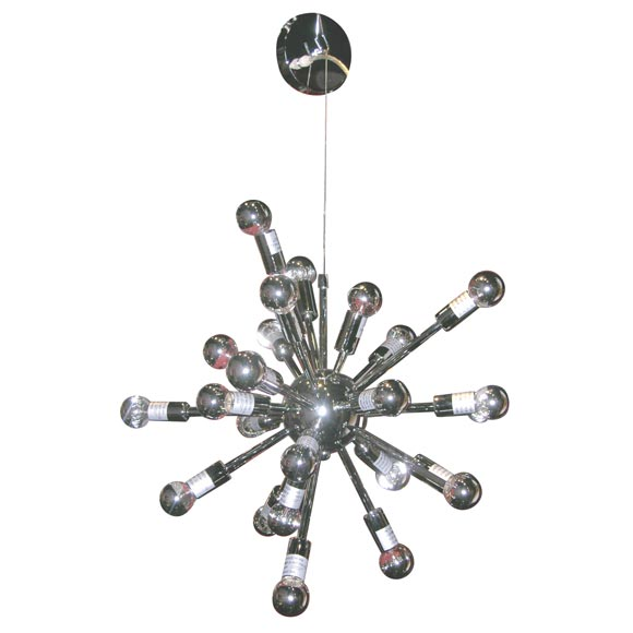 asymmetrical sputnick chandelier at 1stdibs