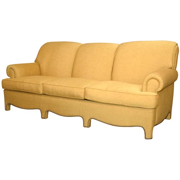 1940 S Sofa With Pillow Back At 1stdibs