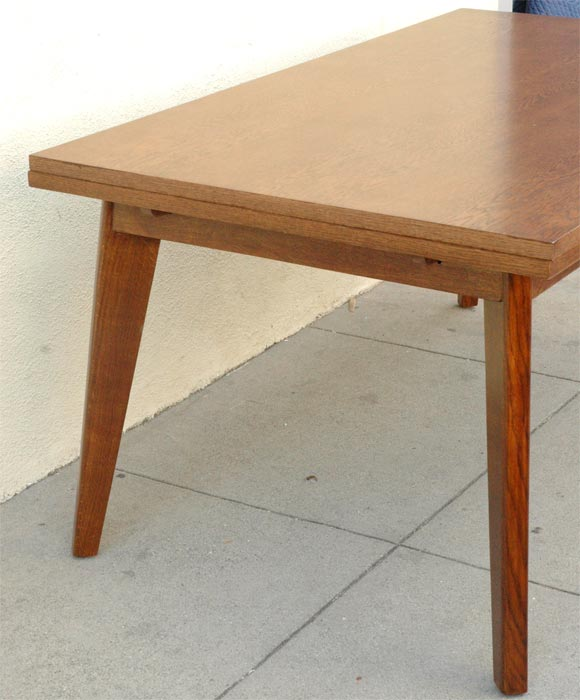 French 40s dining table by maurice rinck at 1stdibs for Dining room table 40 x 60