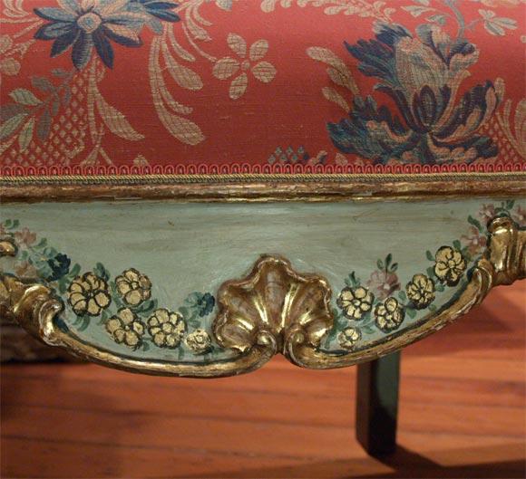 Italian 18th C. Venetian Painted Sofa For Sale