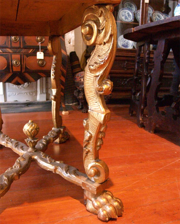 17th Century, Italian Console Table For Sale 1