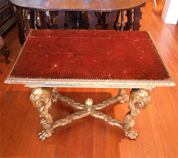 17th Century, Italian Console Table For Sale 4