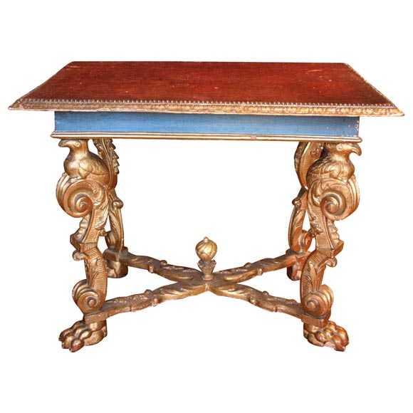 17th Century, Italian Console Table For Sale