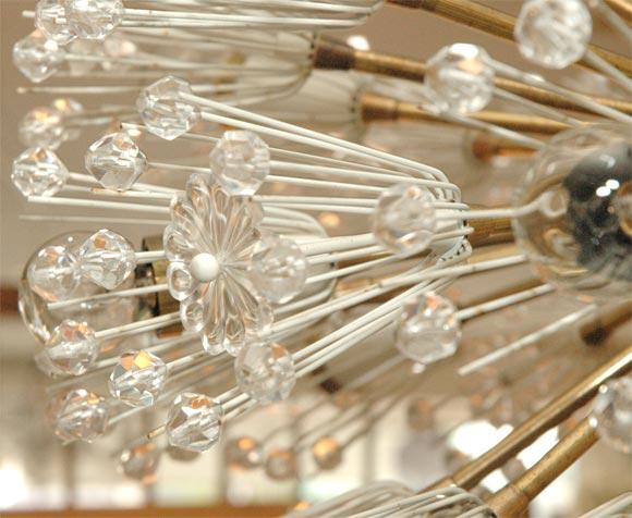 Brass Emil Stejnar Sputnik For Sale